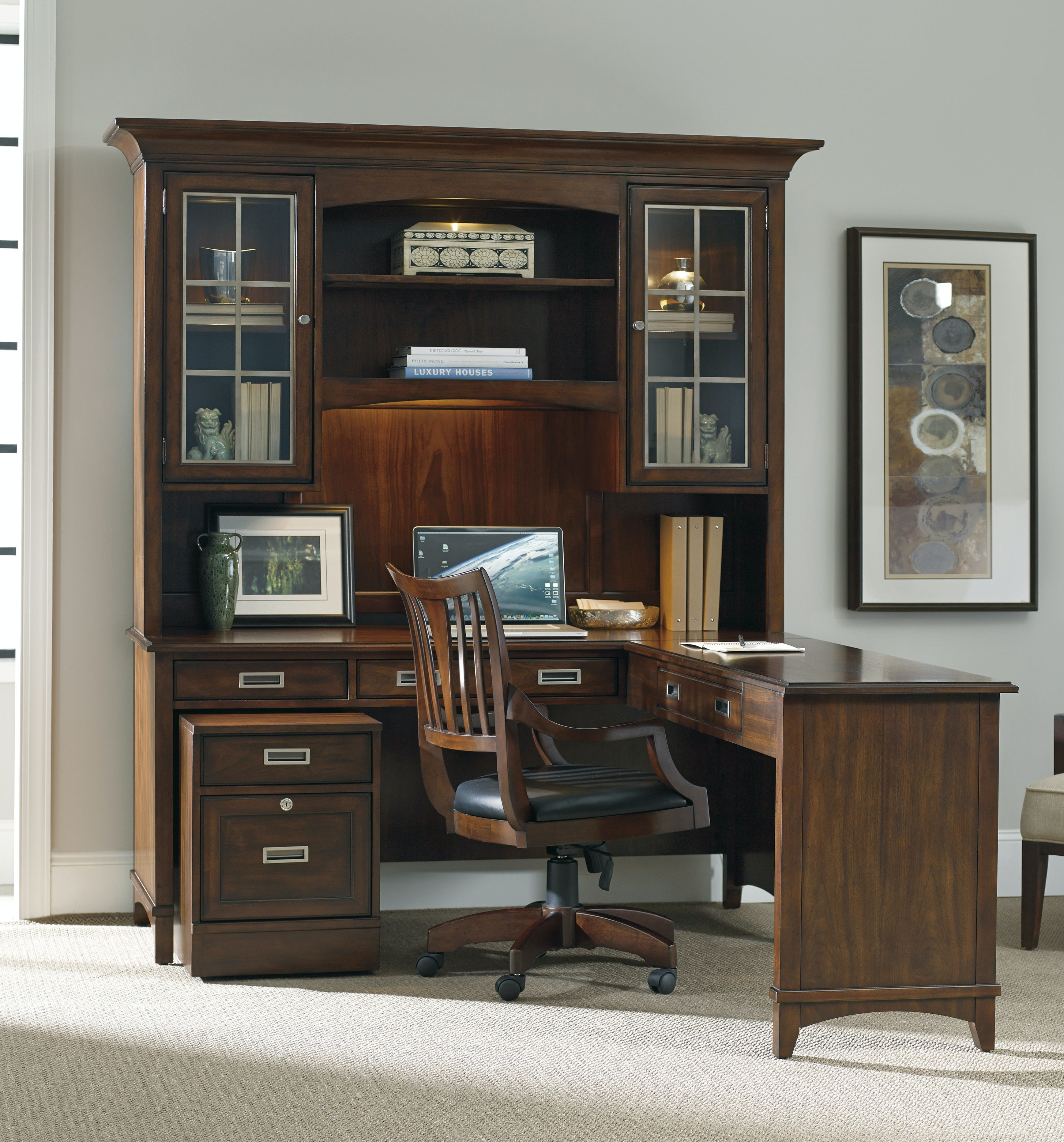 Hooker Furniture Home Office Latitude 66 Inch Desk 5167 10479 Flemington  Department Store Home Office Furniture Outlet