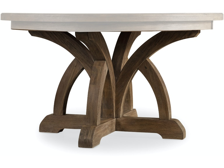 Hooker Furniture Dining Room Corsica Round Dining Table W 1 18in Leaf 5180 75203