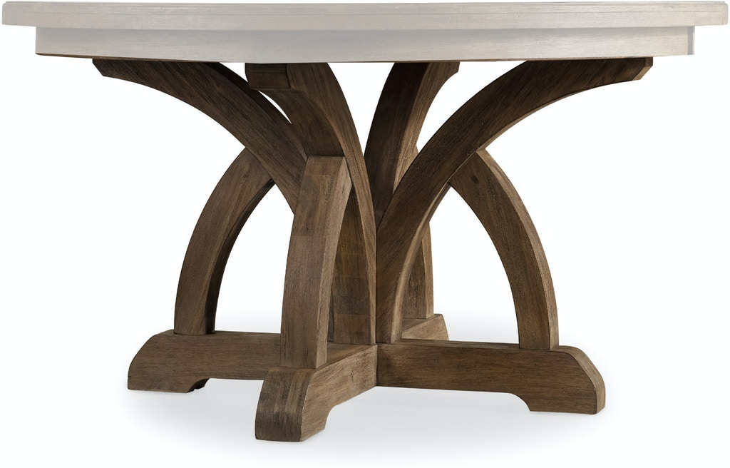 Hooker Furniture Dining Room Round Dining Table Base 5180 75001 Stickley Audi Co Manlius Ny