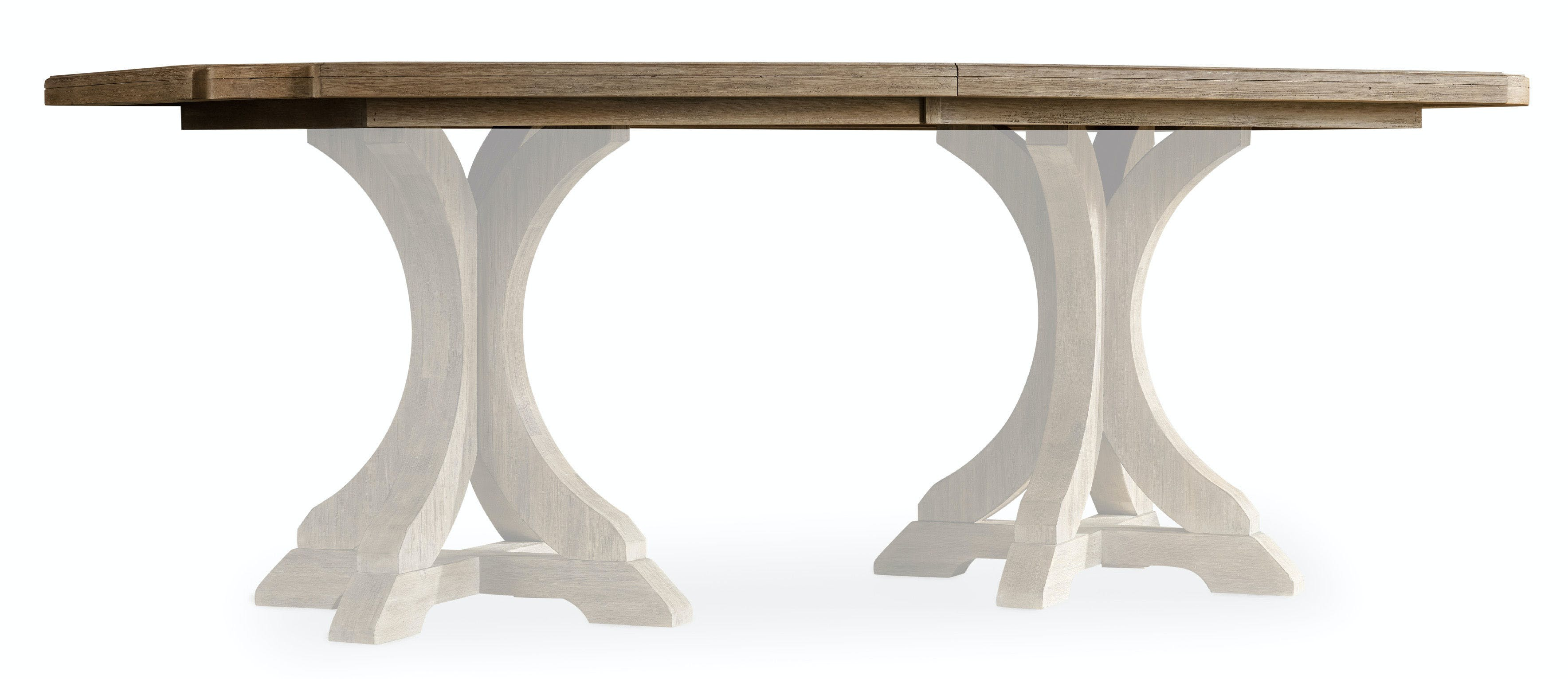Picture of: Corsica Rectangle Pedestal Dining Table W 2 20in Leaves Hs518075206