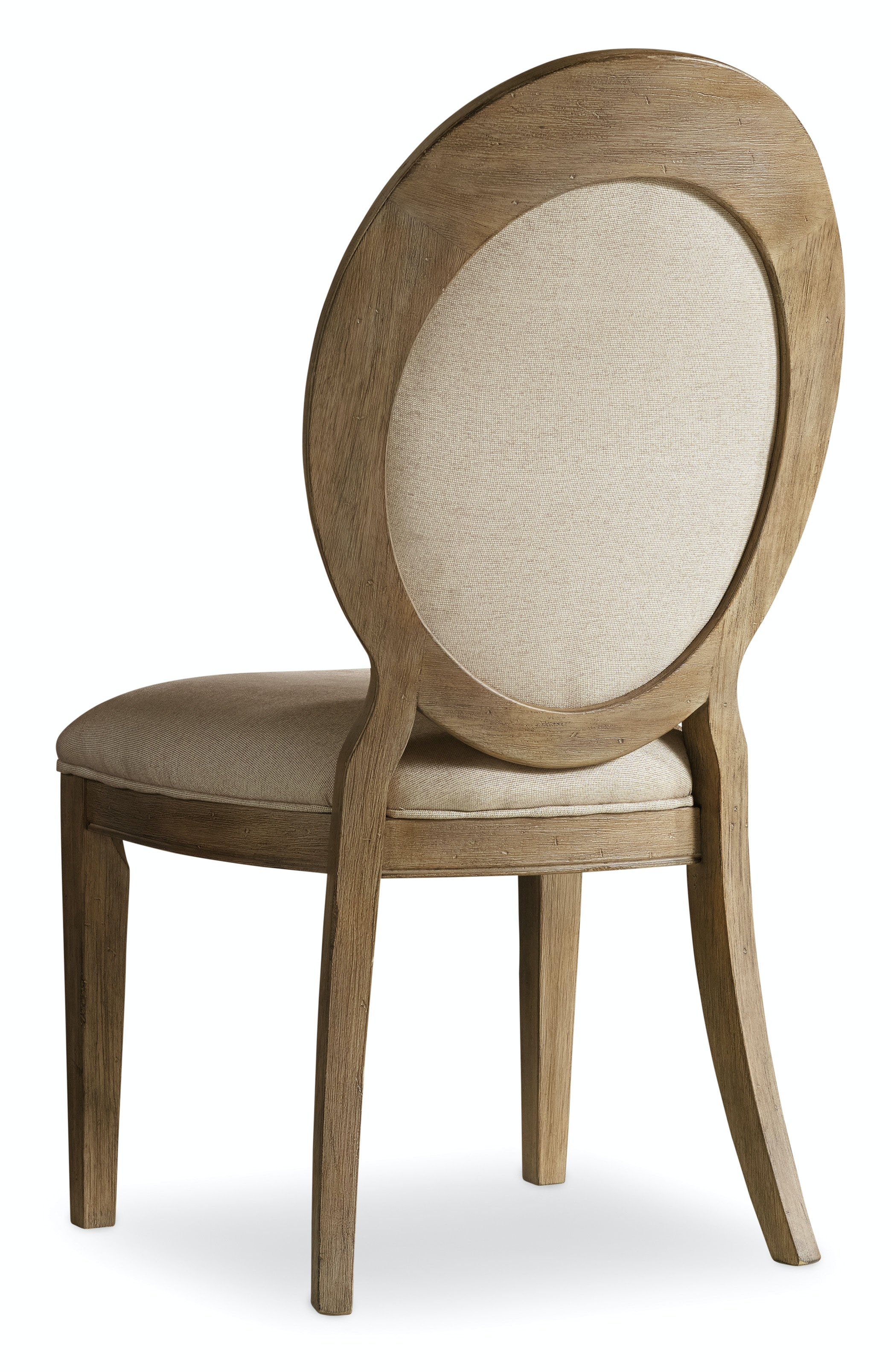 Hooker Furniture Dining Room Corsica Oval Back Side Chair 5180-75412