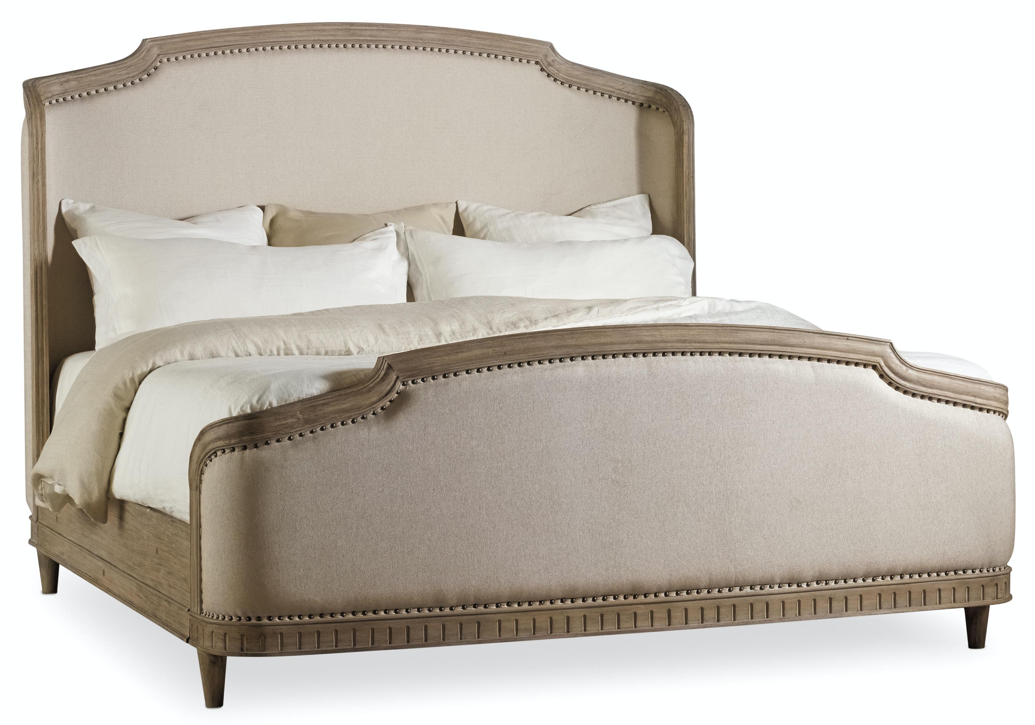 Hooker Furniture Corsica King Upholstery Shelter Bed 5180 90866