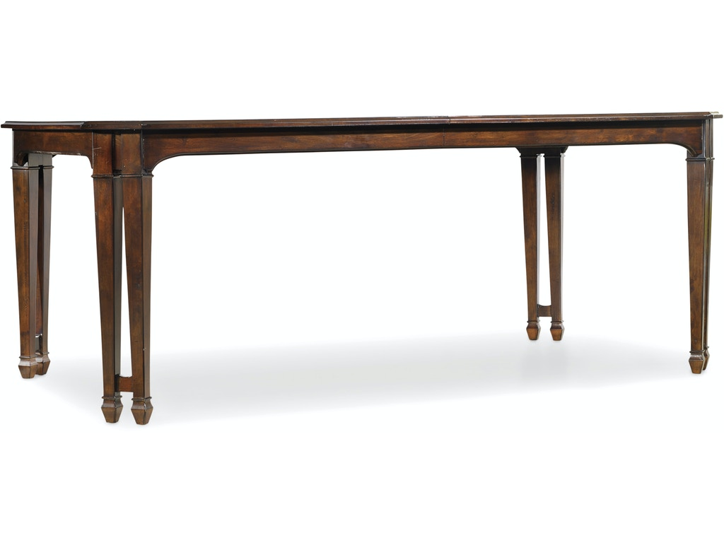 Hooker furniture dining room palisade rectangle dining table 5183 75200 toms price furniture - Dining room table prices ...