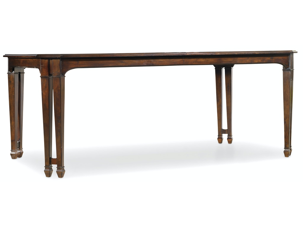 Palisade rectangle dining table hs518375200 for Walter e smithe dining room furniture