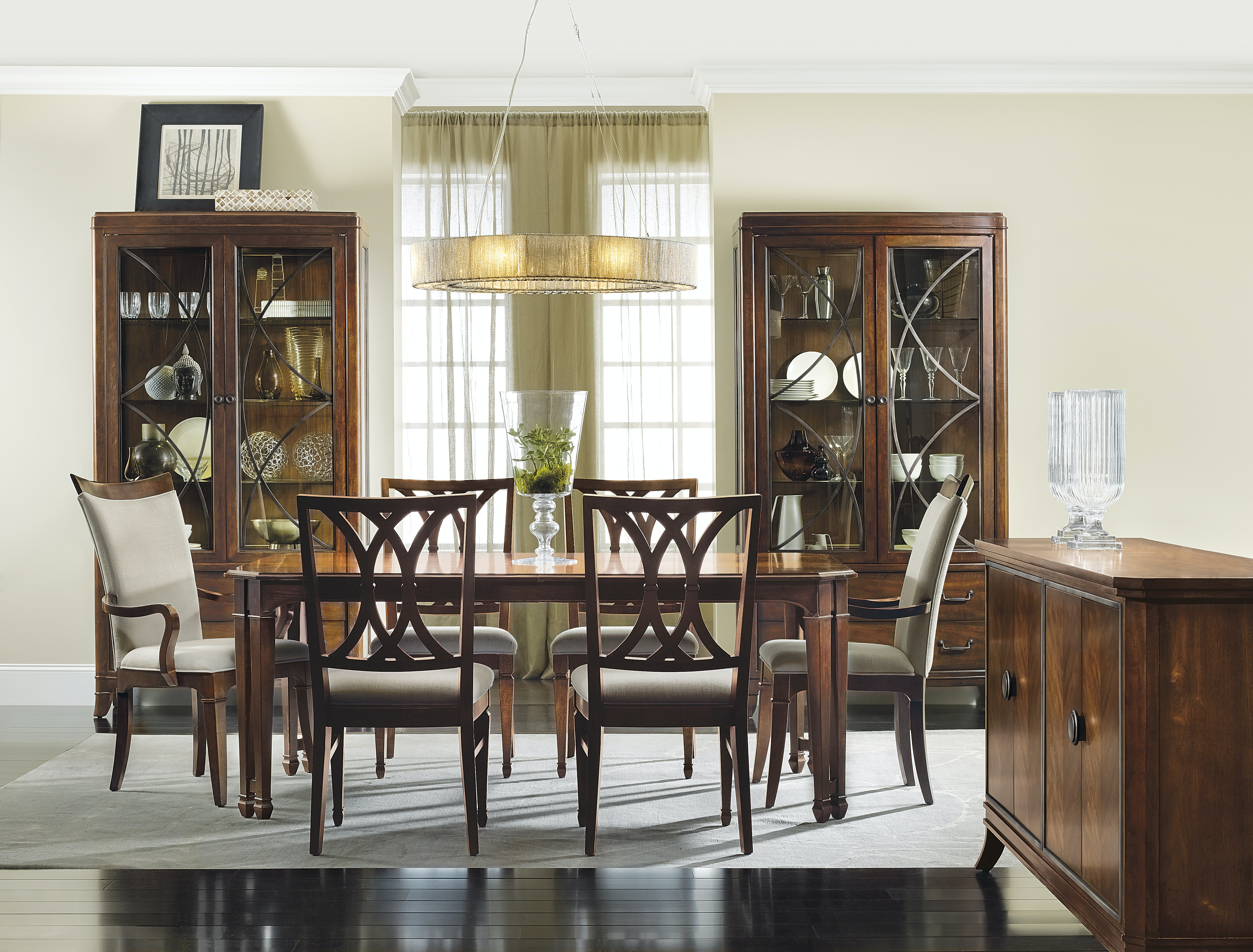 Hooker Furniture Palisade Rectangle Dining Table 5183 75200