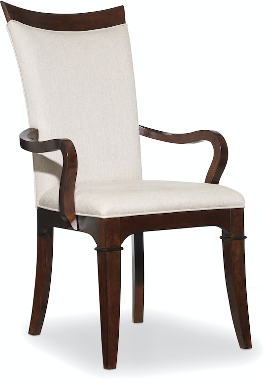 Hooker Furniture Dining Room Palisade Upholstered Arm Chair ...