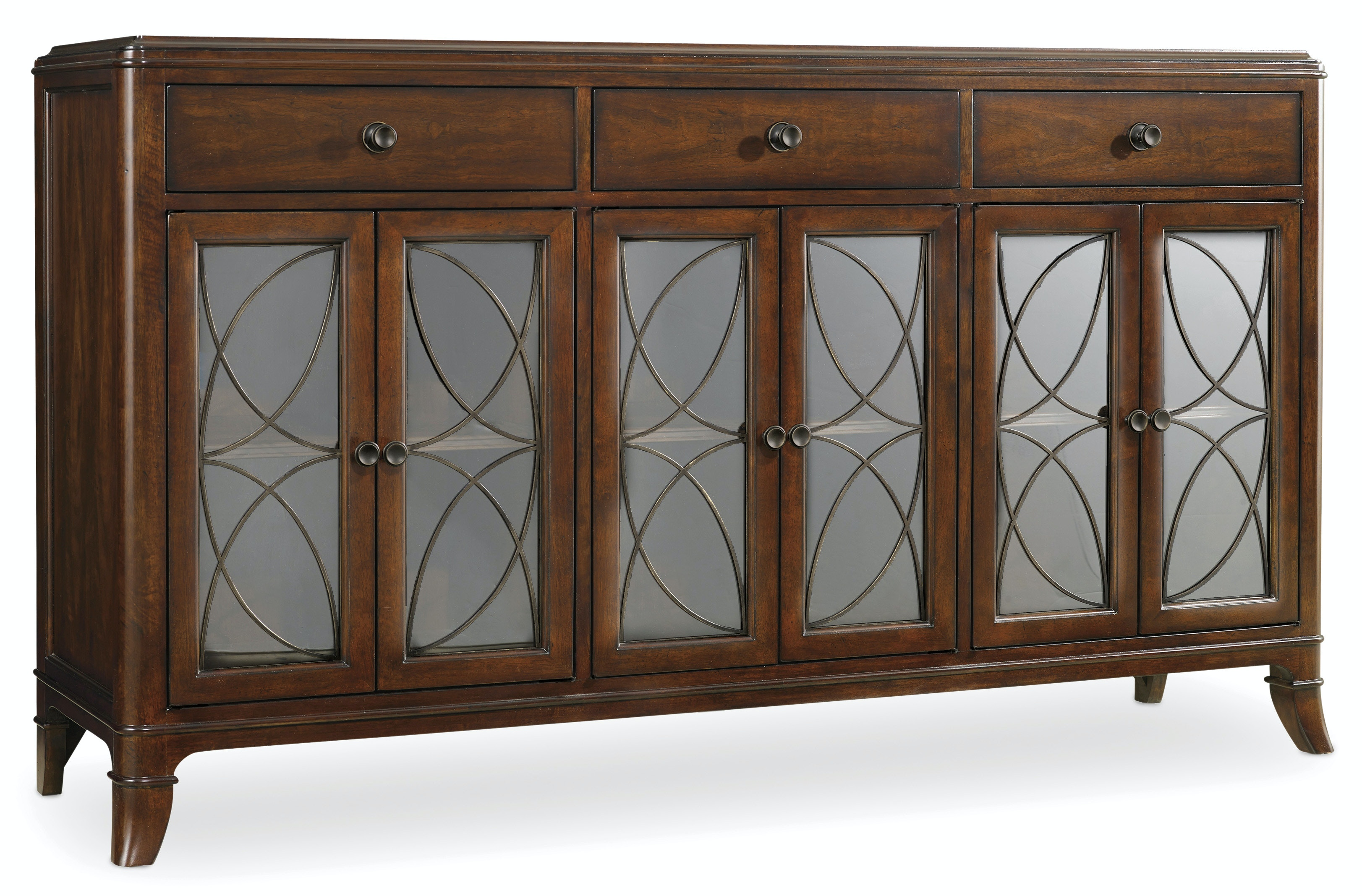 Hooker Furniture Dining Room Palisade Buffet 5183 75900 American