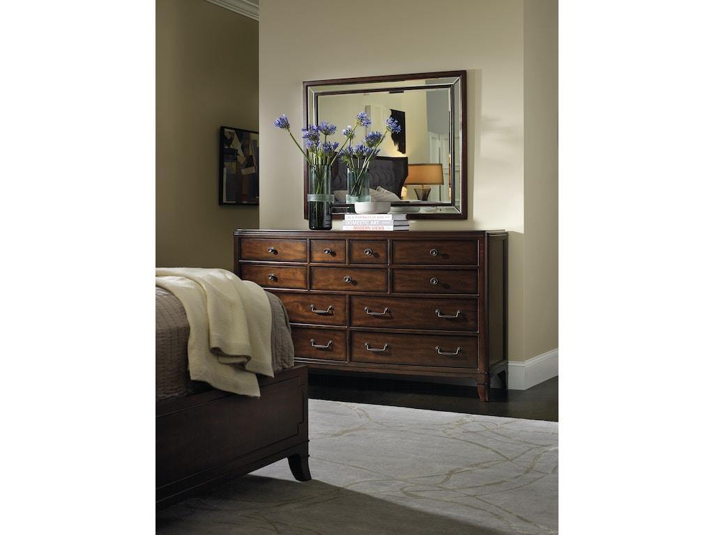 Hooker Furniture Bedroom Palisade Dresser 5183 90002 Seaside Furniture Toms River Brick And