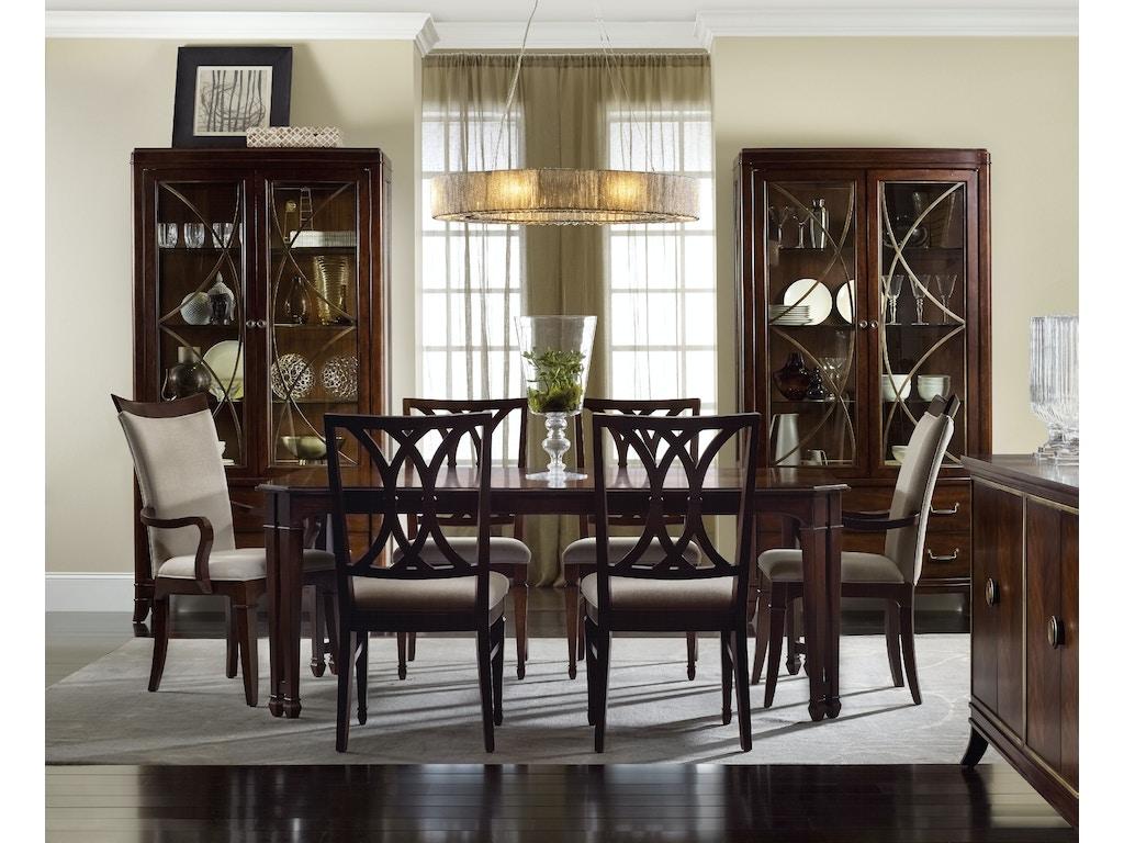 Hooker Furniture Dining Room Palisade Splat Back Side