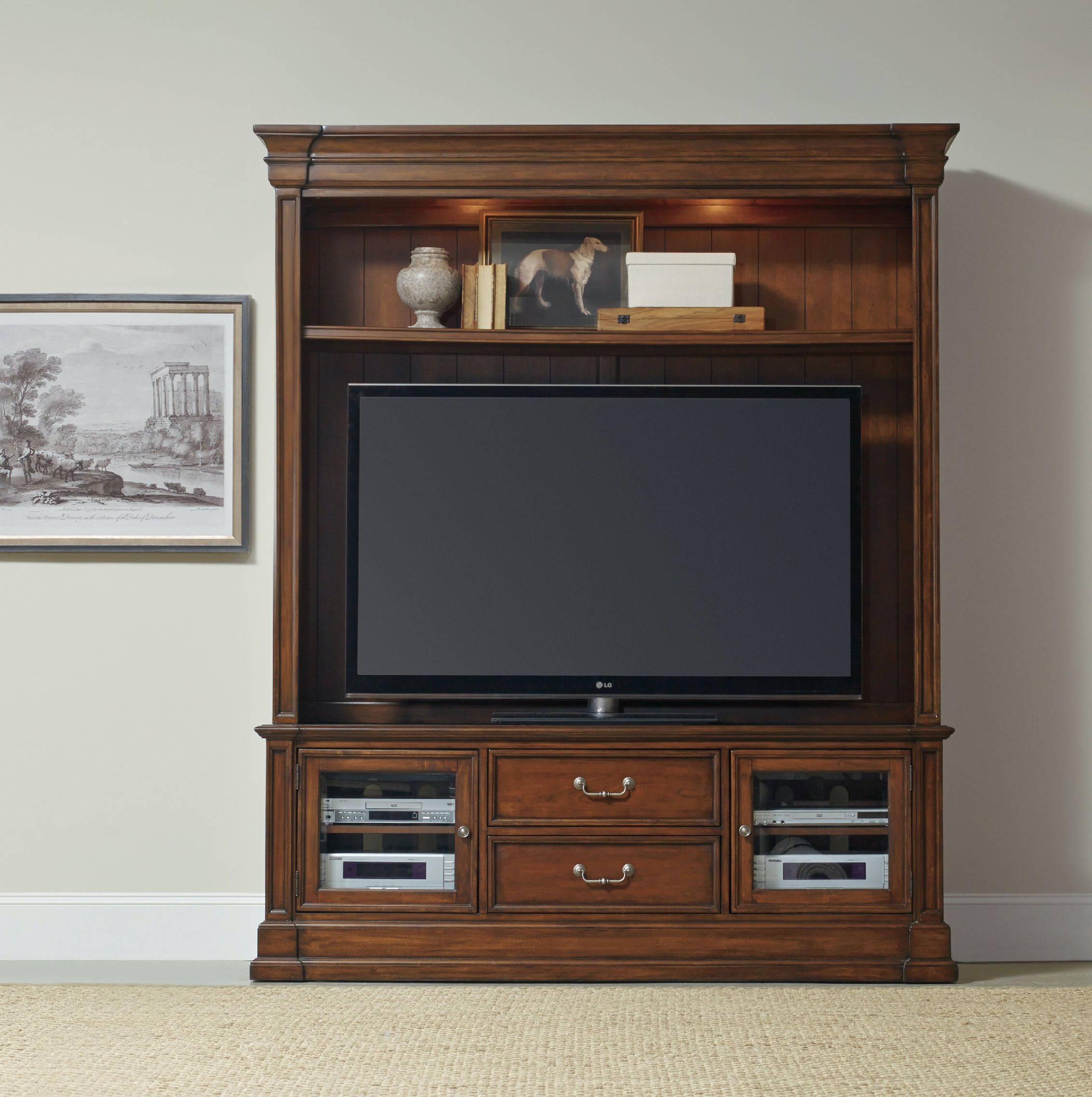 Hooker Furniture Home Entertainment Clermont Two Piece