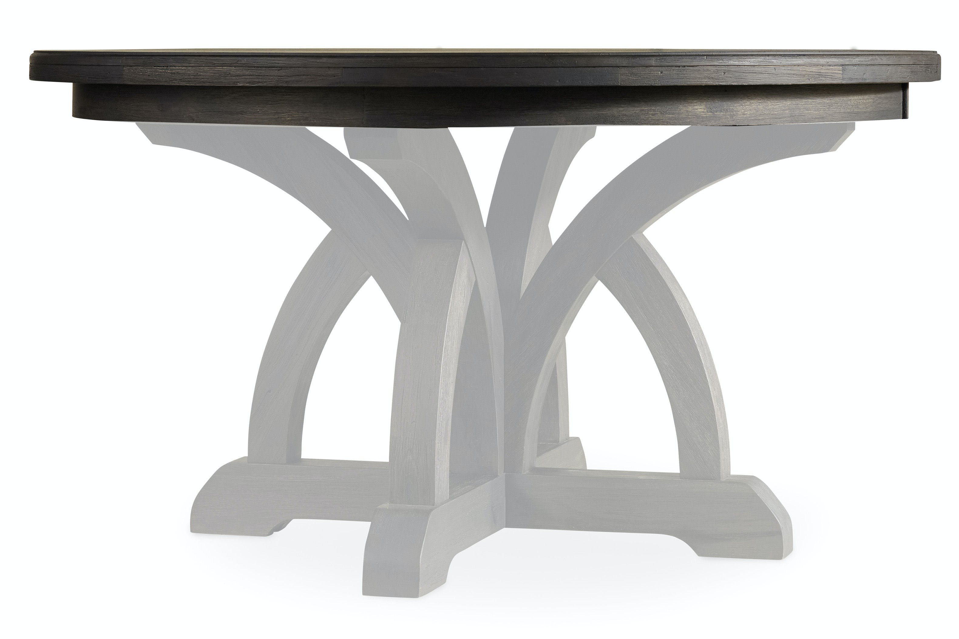 Picture of: Hooker Furniture Dining Room Round Dining Table Top With 1 18in Leaf 5280 75002