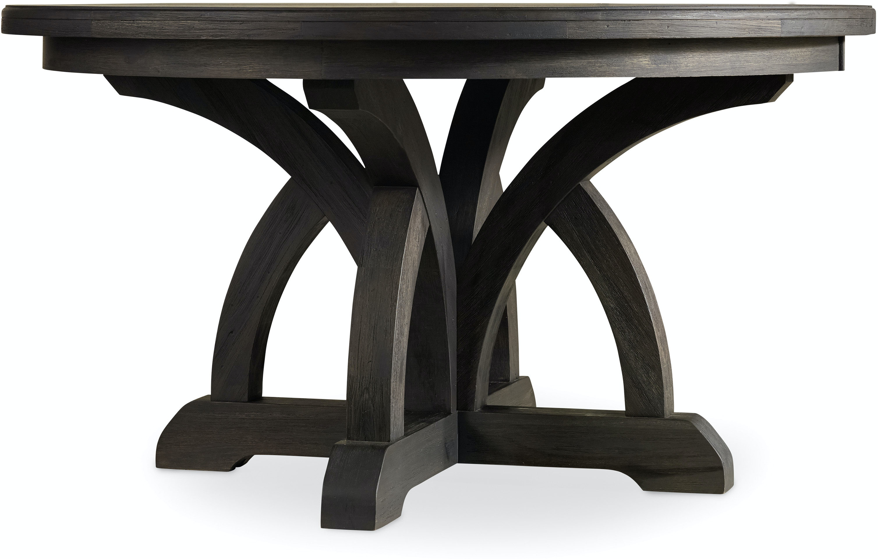 Hooker Furniture Dining Room Corsica Dark Round Dining Table w/1
