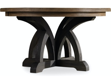 5280 75213  Corsica Dark Round Dining Table  Dining Room Tables   Toms Price Furniture   Chicagoland area. Arlington Round Sienna Pedestal Dining Room Table W Chestnut Finish. Home Design Ideas