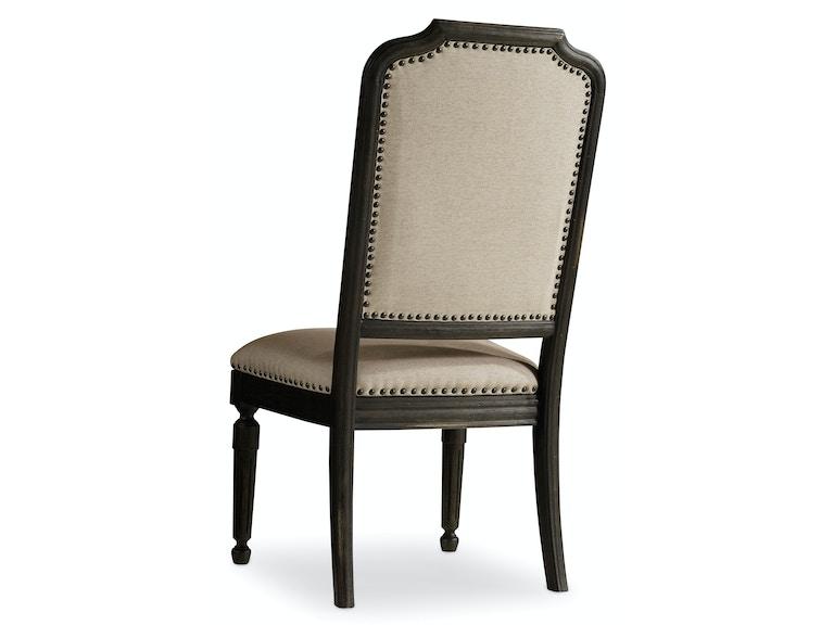 Hooker Furniture Dining Room Corsica Dark Oval Back Arm