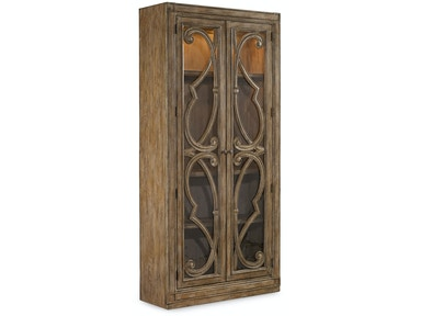 Hooker Furniture Solana Bunching Curio Cabinet 5291-50001