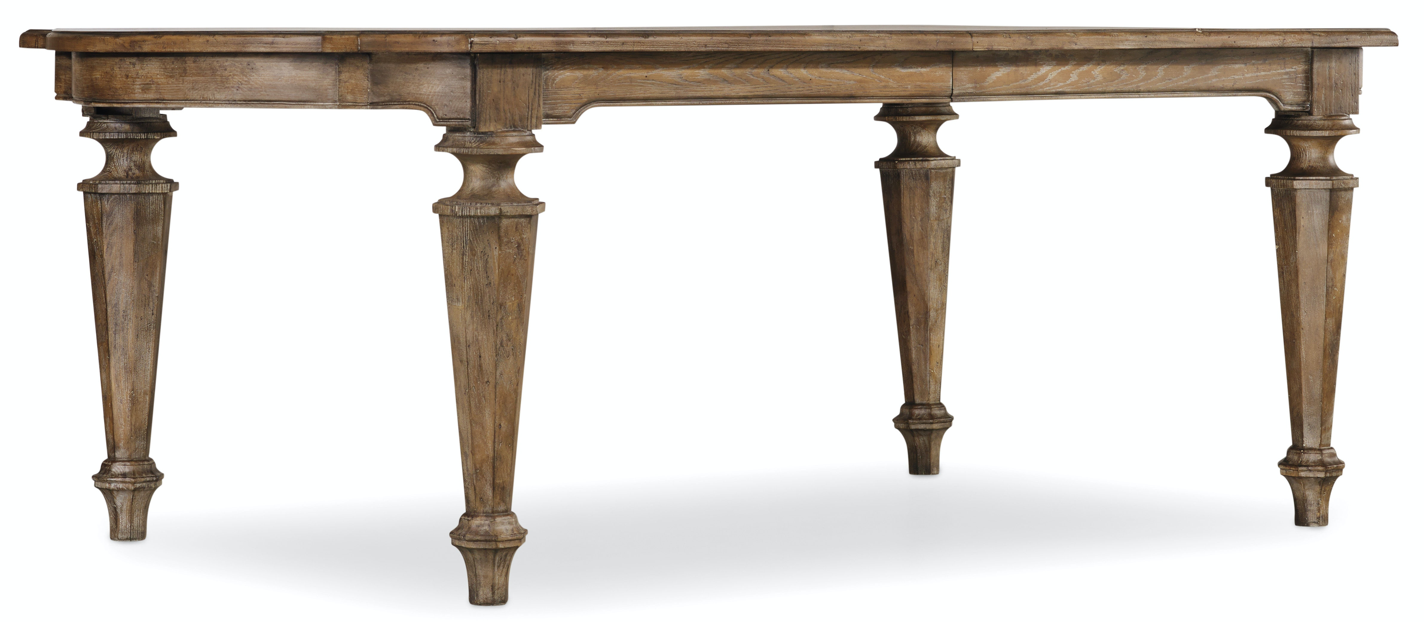 Hooker Furniture Solana Rectangle Dining Table W/2 18in Leaves 5291 75200