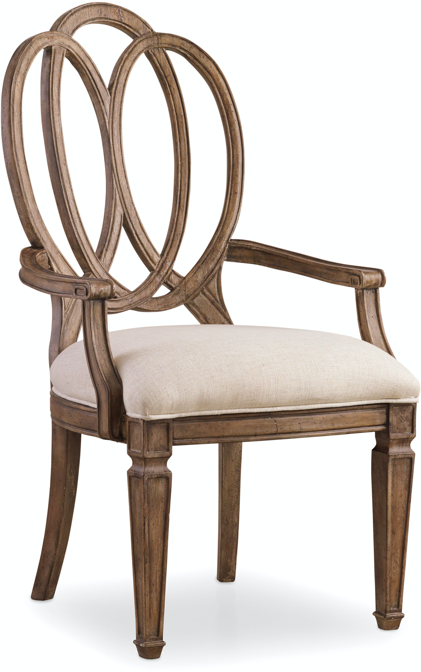 Hooker Furniture Dining Room Solana Wood Back Arm Chair 5291