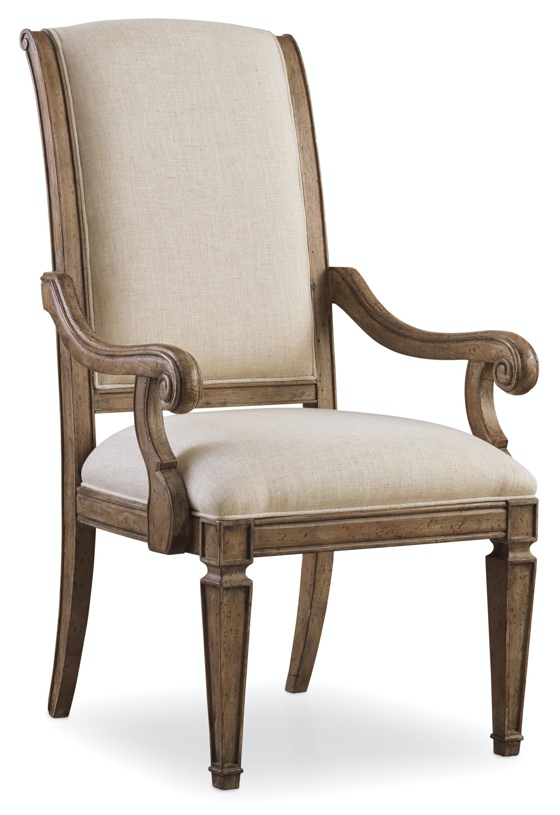 Hooker Furniture Dining Room Solana Upholstered Arm Chair  : 5291 75500 from www.hookerfurniture.com size 768 x 576 jpeg 19kB