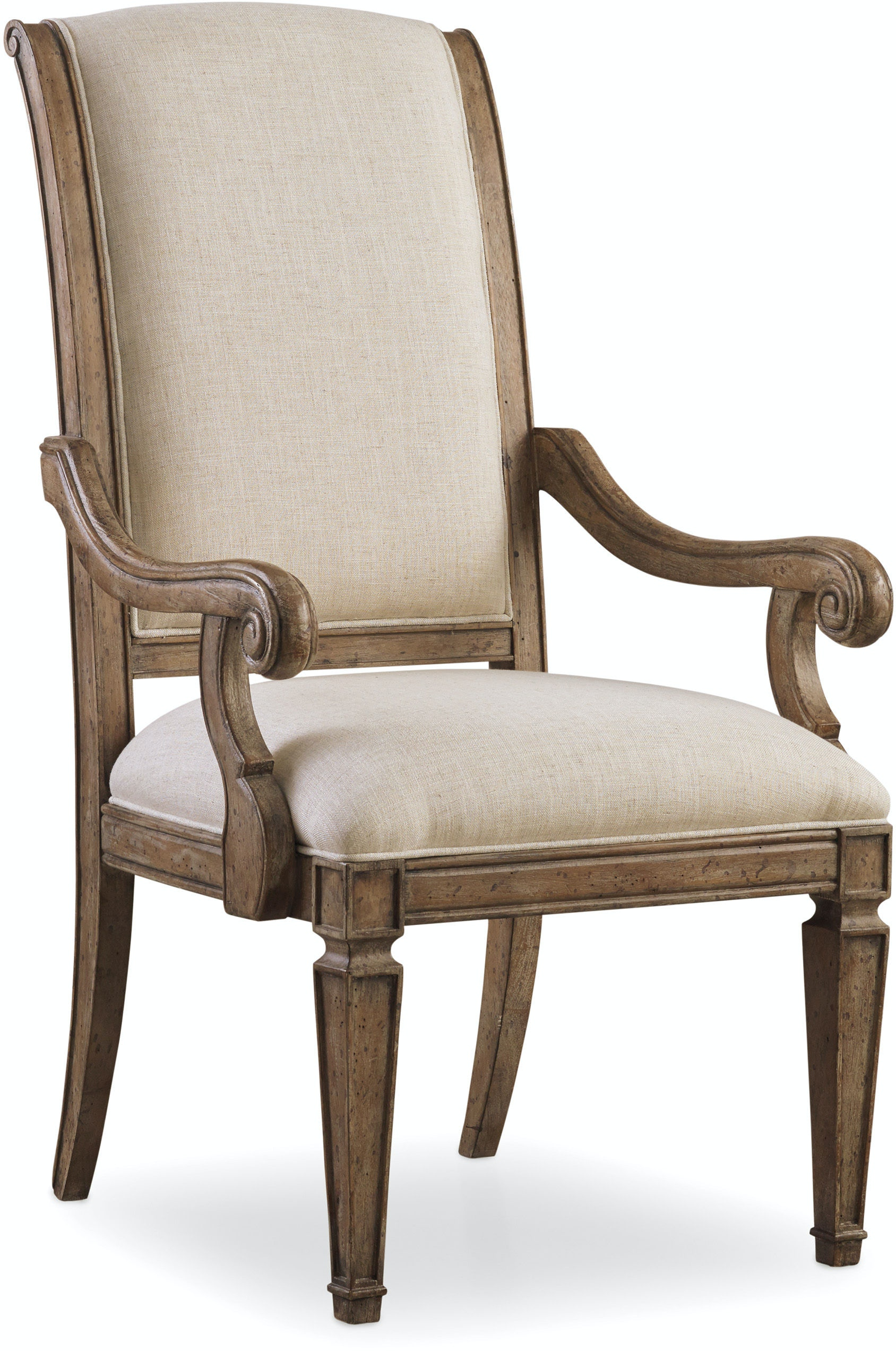 Hooker Furniture Dining Room Solana Upholstered Arm Chair 5291