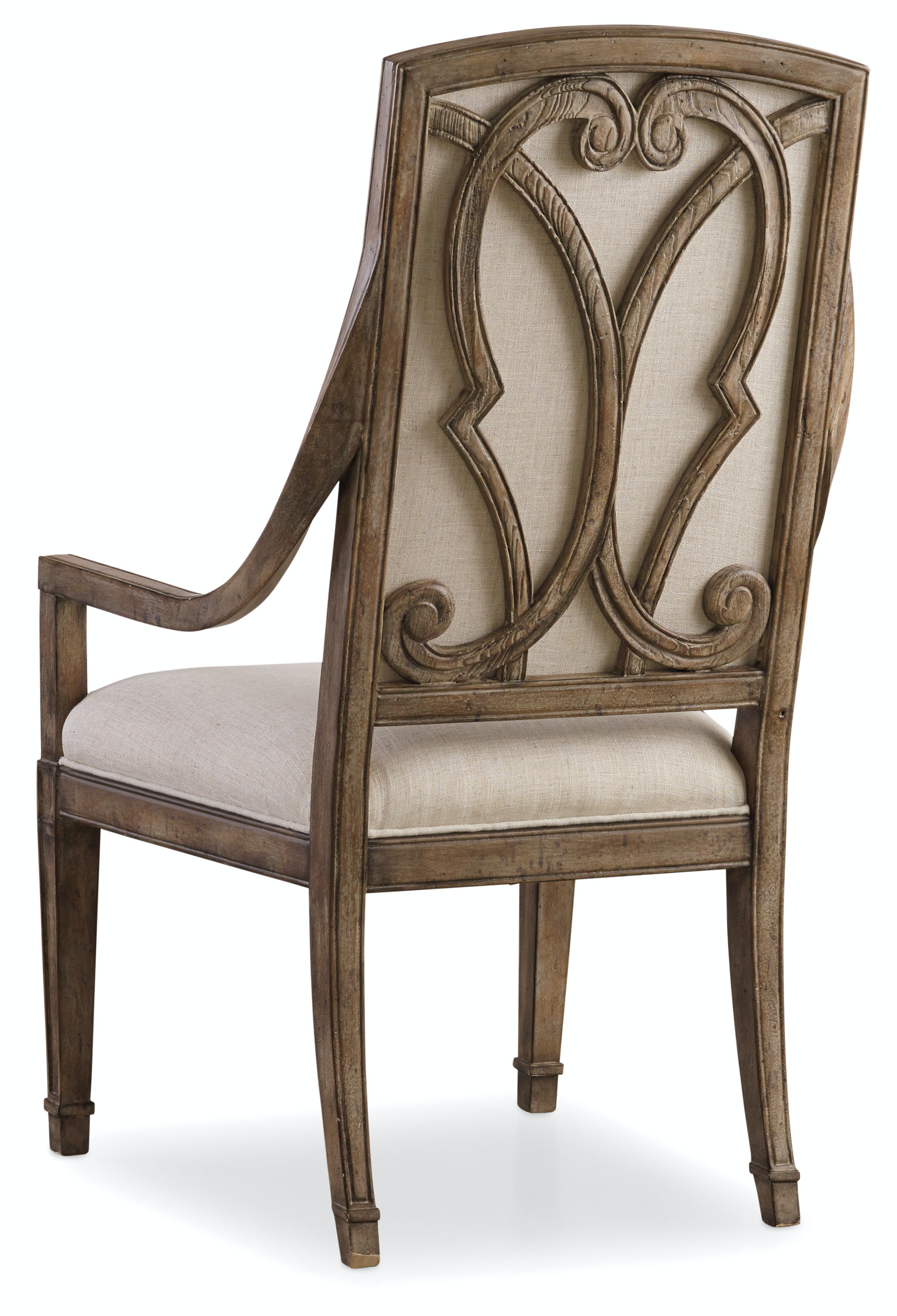Hooker Furniture Solana Host Chair 5291-75501  sc 1 st  Hooker Furniture & Hooker Furniture Dining Room Solana Host Chair 5291-75501