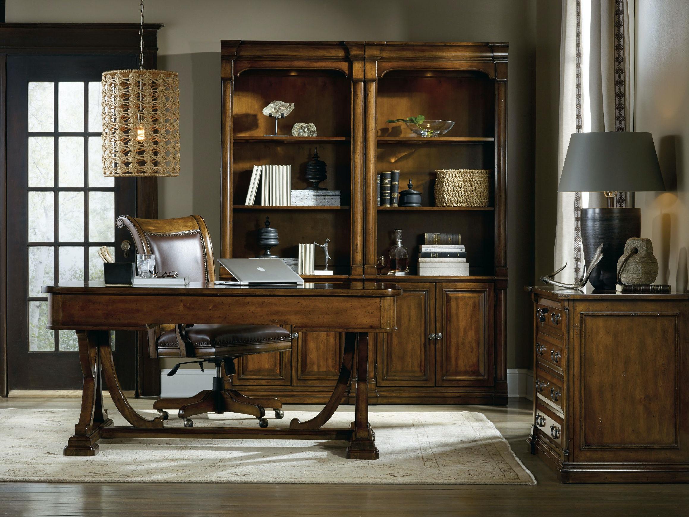 hooker furniture home office tynecastle tilt swivel desk chair