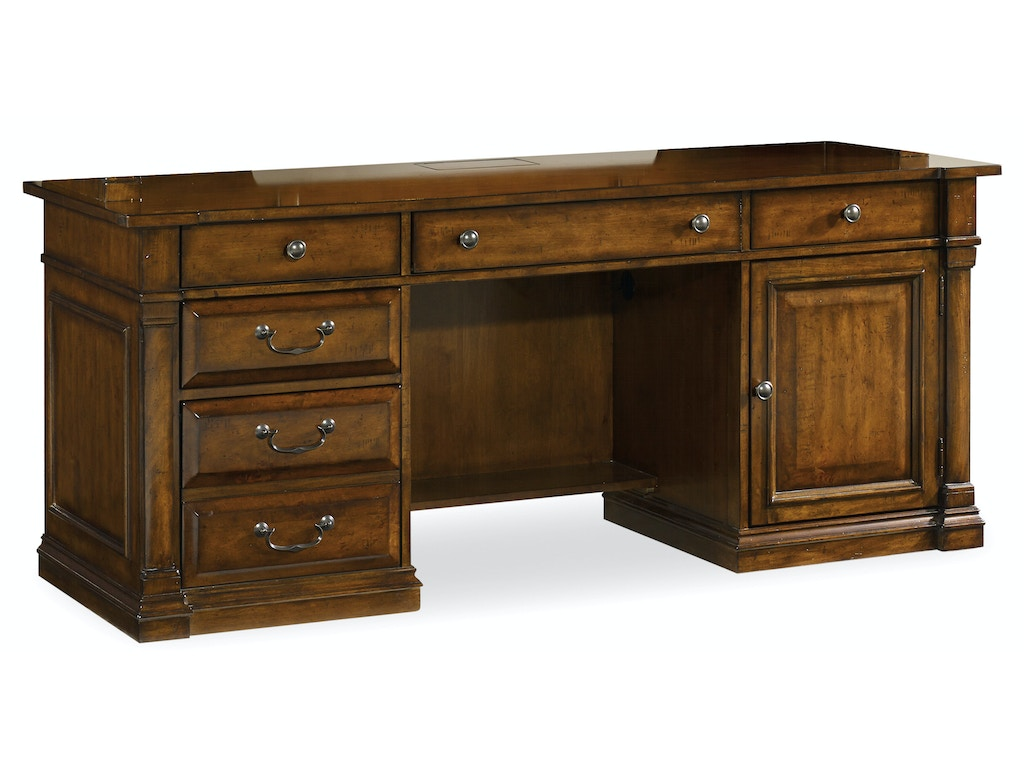 Hooker Furniture Home Office Tynecastle Computer Credenza 5323 10464 Howell Furniture