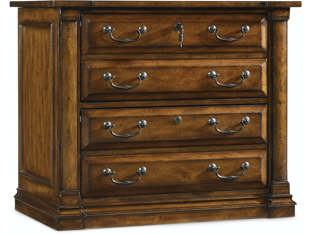 Home Office Furniture Michigan: Hooker Furniture Home Office Tynecastle Lateral File 5323