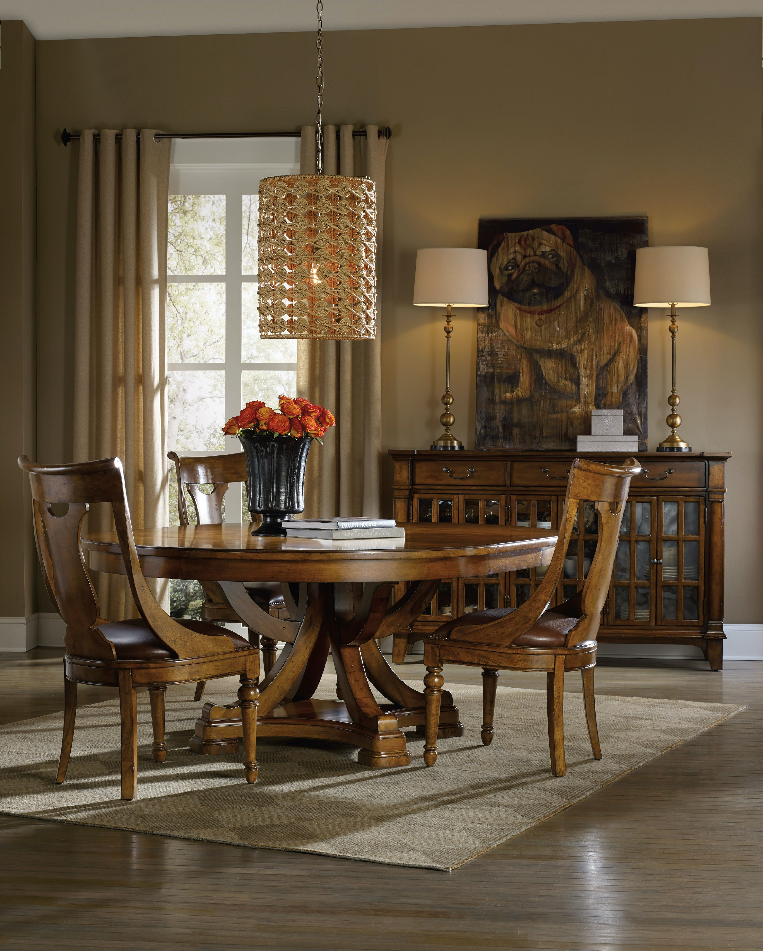Side Chairs For Living Room Hooker Furniture Dining Room Tynecastle Side Chair 5323 75410