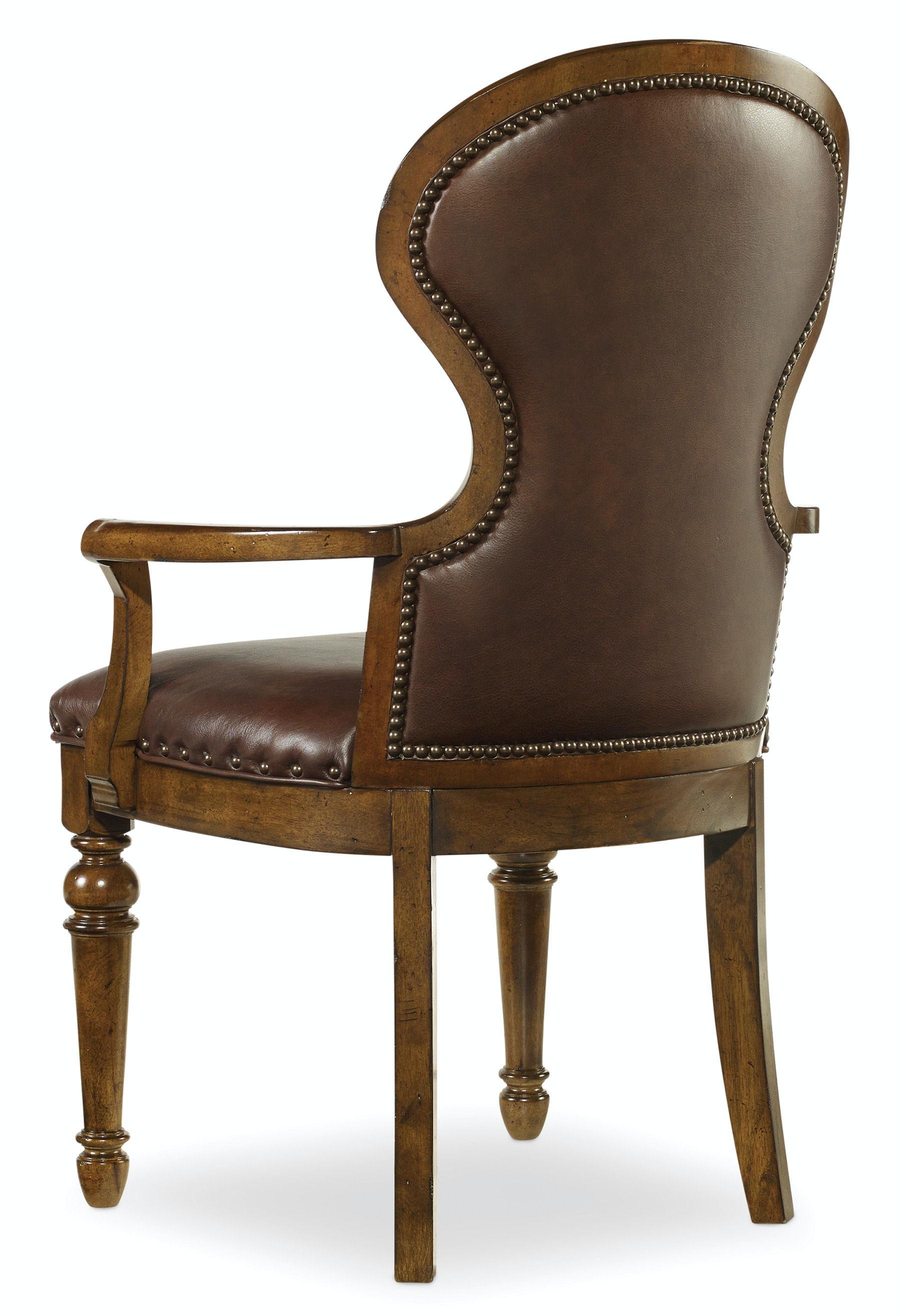 Hooker Furniture Dining Room Tynecastle Upholstered Arm