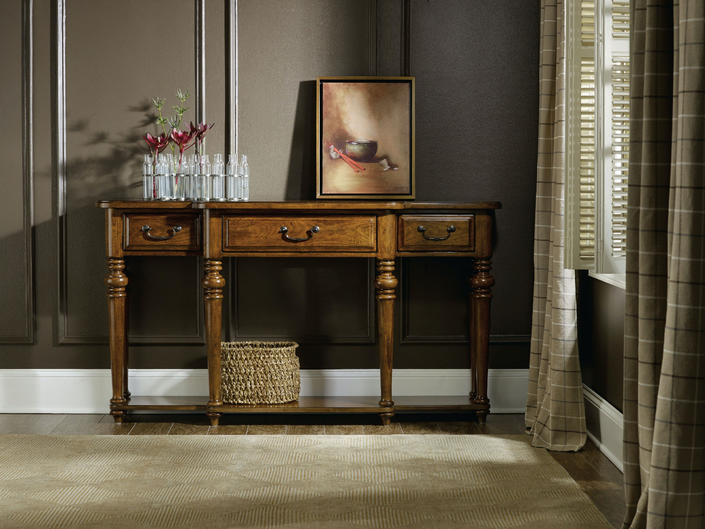 Hooker Furniture Living Room Tynecastle Console Table 5323 80151