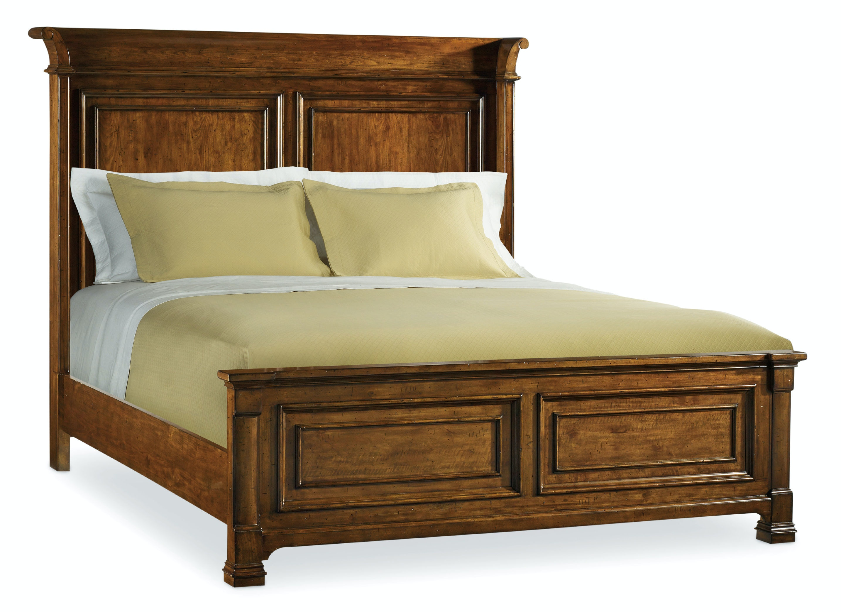 hooker furniture bedroom tynecastle queen panel bed 5323-90250