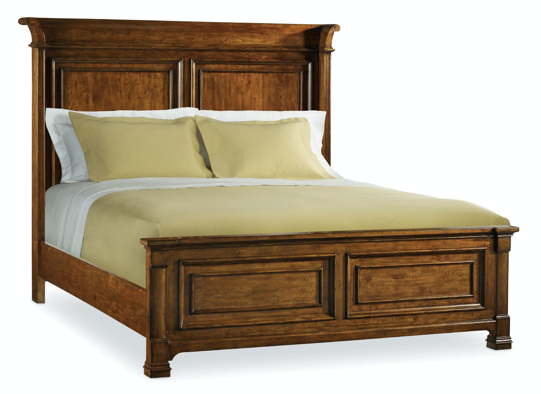 Hooker Furniture Bedroom Tynecastle King Panel Bed 5323 90266