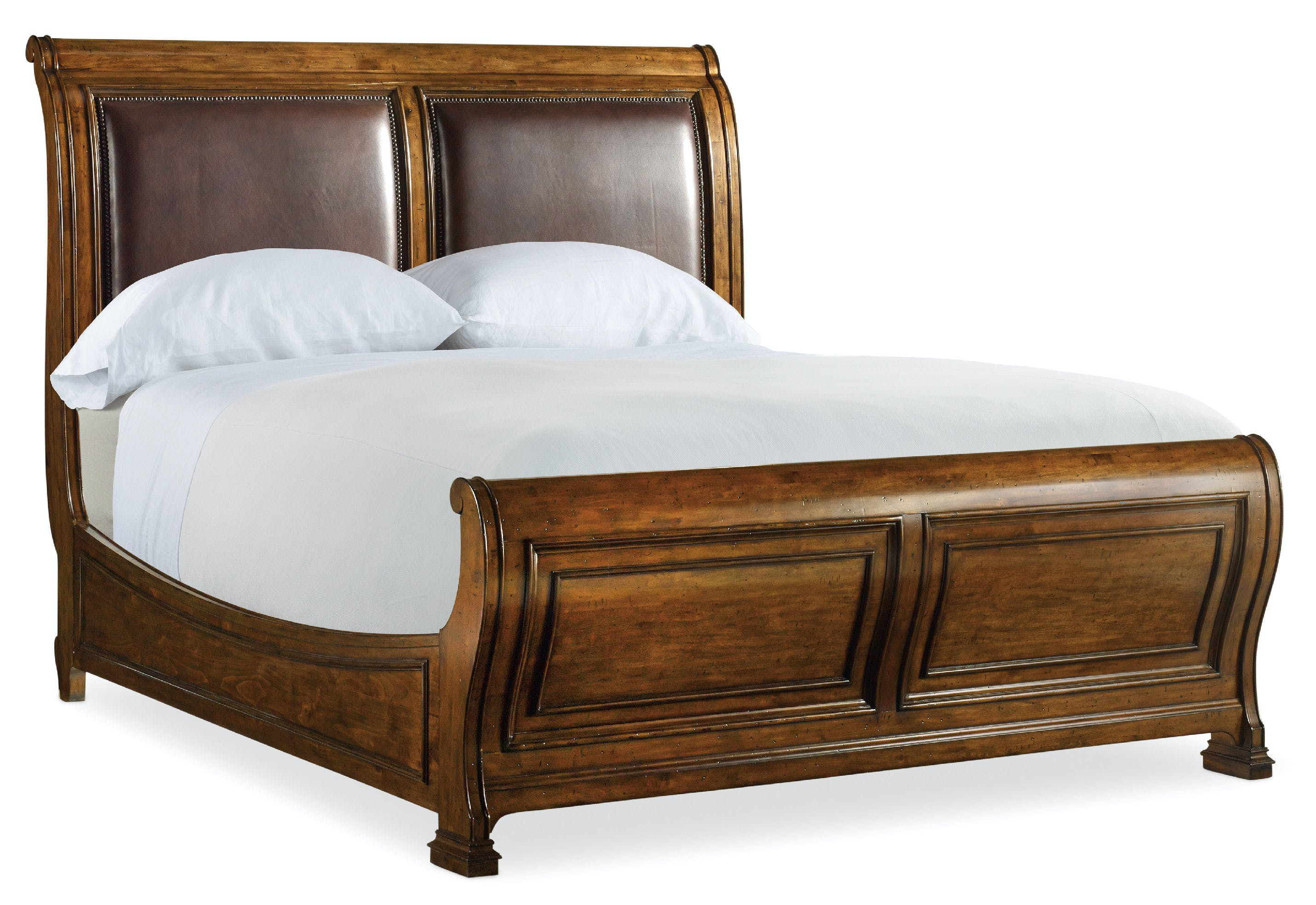 Picture of: Hooker Furniture Bedroom Tynecastle King Sleigh Bed 5323 90466