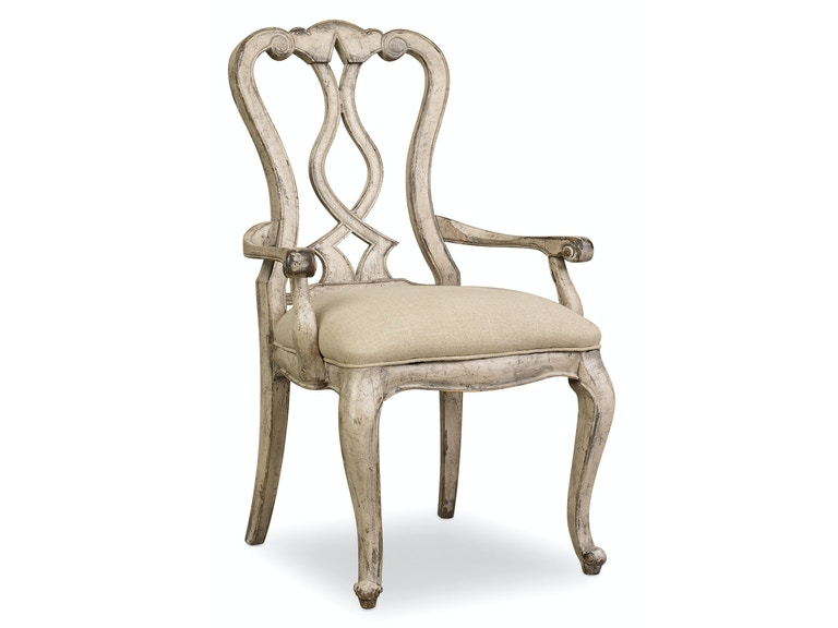 Hooker Furniture Chatelet Splatback Arm Chair 5350-75400