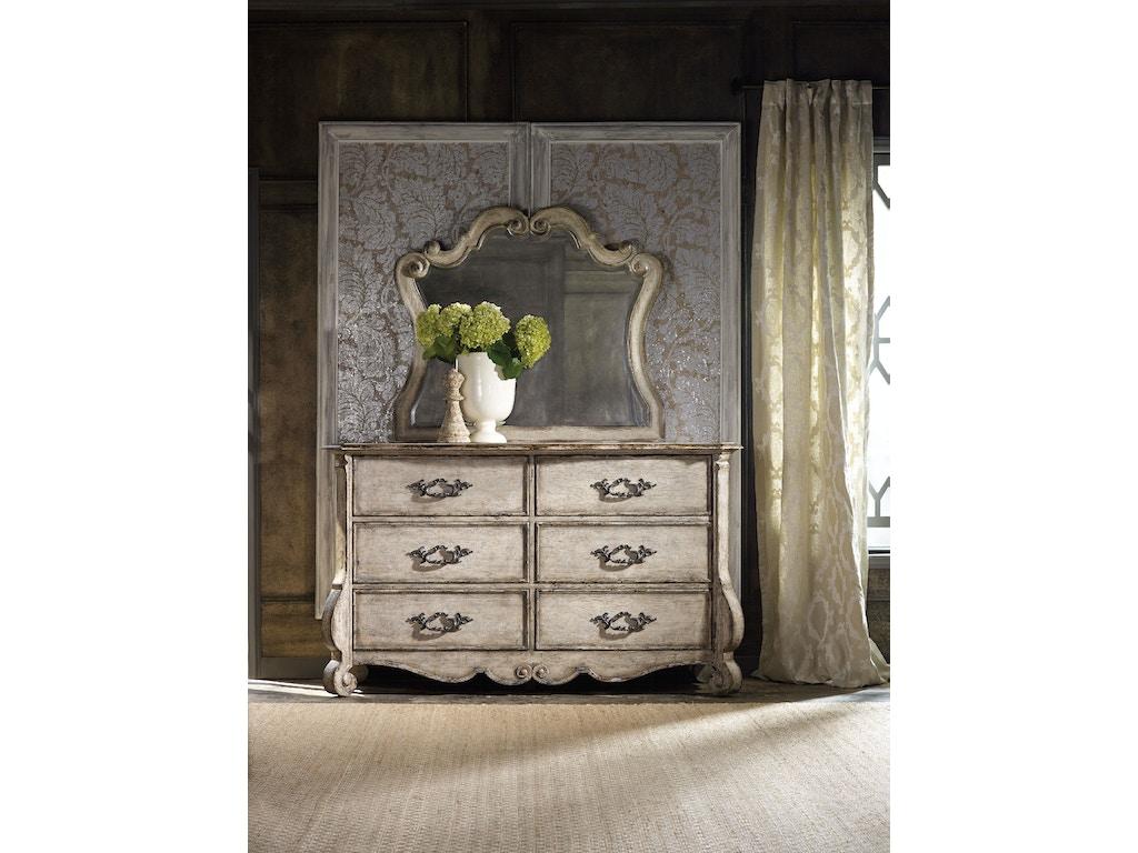 Hooker furniture bedroom chatelet mirror four states for Hooker furniture