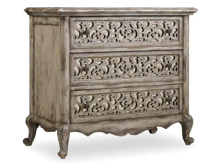 Hooker Furniture Chatelet Fretwork Nightstand 5350-90016