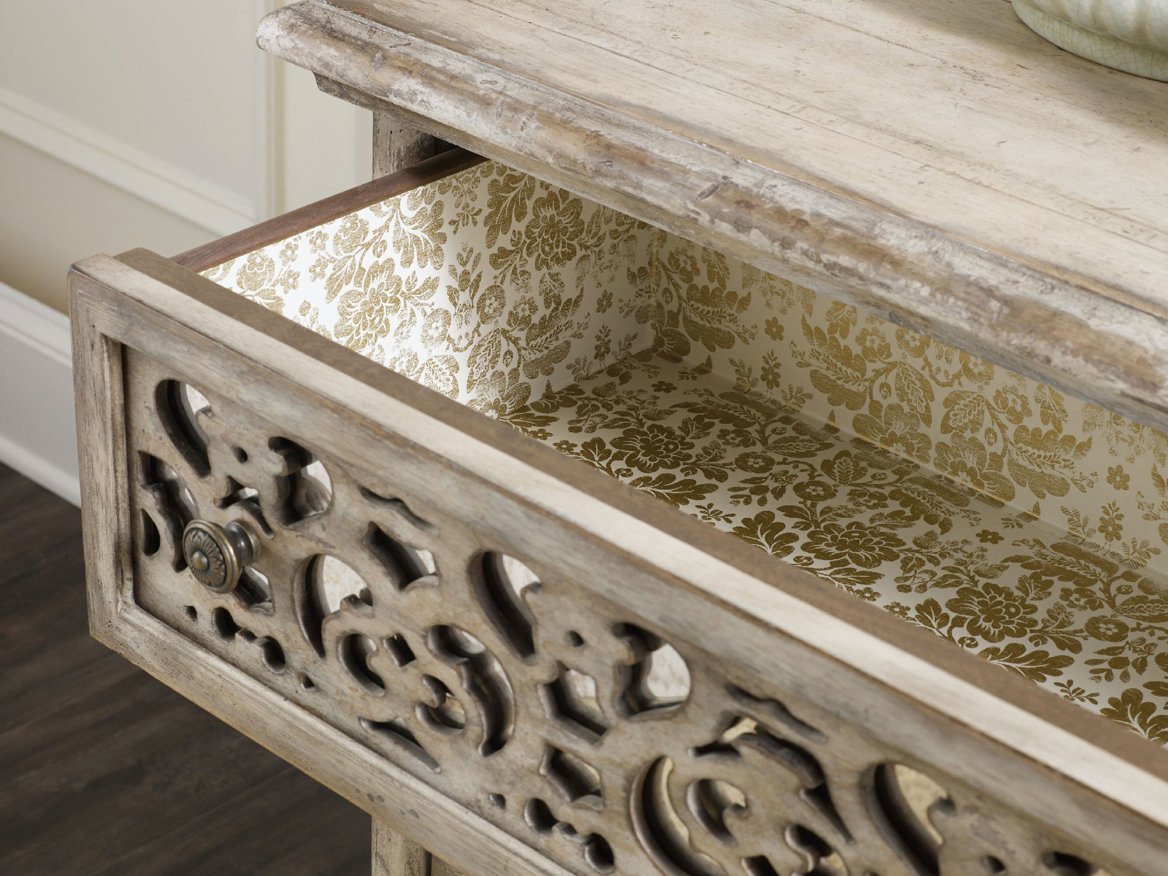 fretwork furniture. Hooker Furniture Chatelet Fretwork Nightstand 5350-90016 S