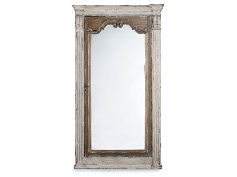 Hooker Furniture Chatelet Floor Mirror w/Jewelry Armoire Storage 5351-50003