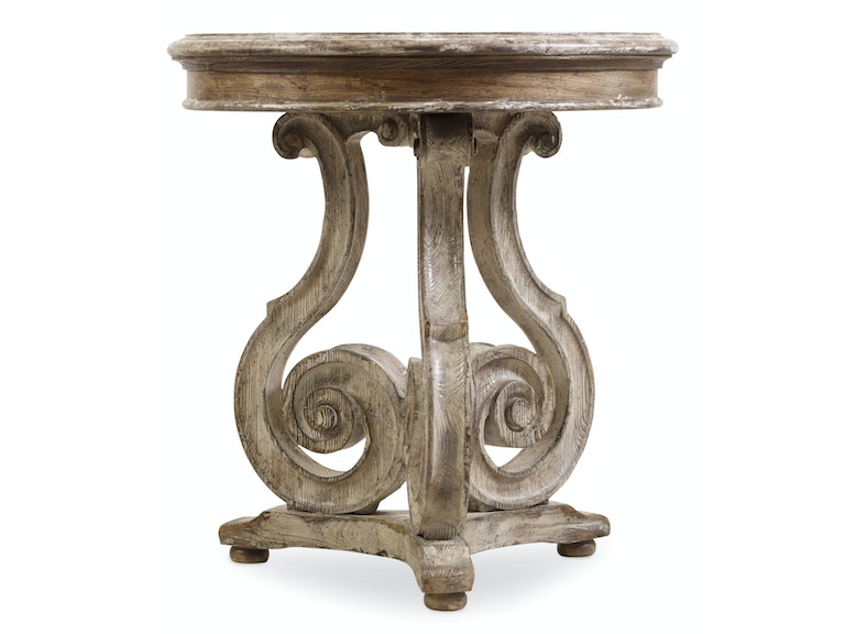 Hooker Furniture Chatelet Scroll Accent Table 5351-50002