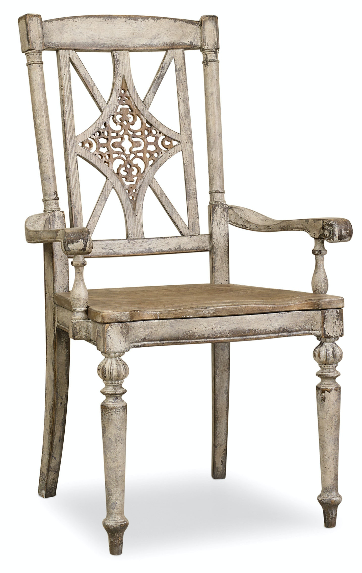 Hooker Furniture Dining Room Chatelet Fretback Arm Chair 5351-75300