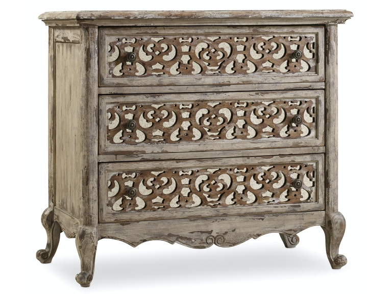 Hooker Furniture Chatelet Fretwork Nightstand 5351-90016