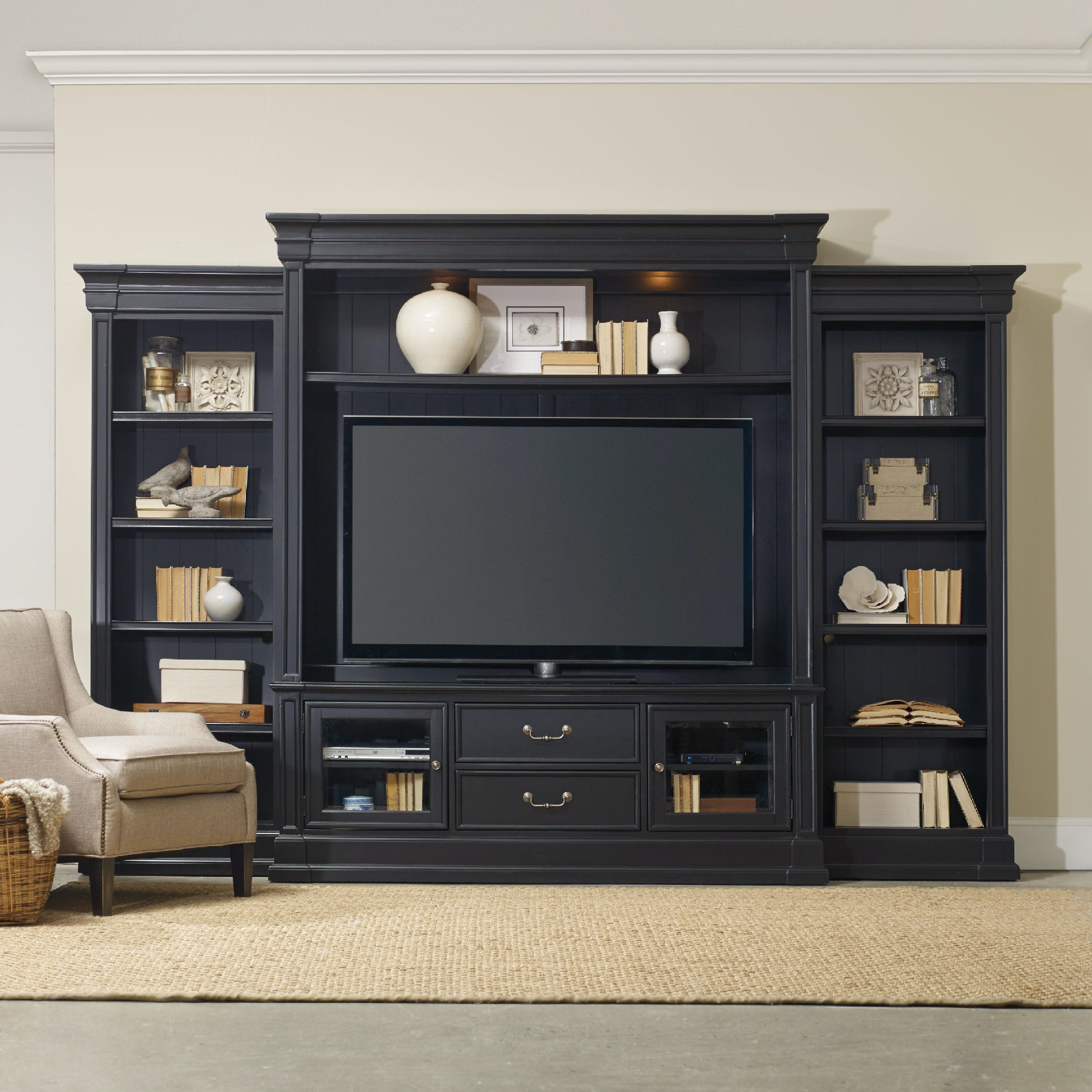 Collections of images of wall units free home designs photos ideas home entertainment wall units hooker furniture martinsville va amipublicfo Choice Image