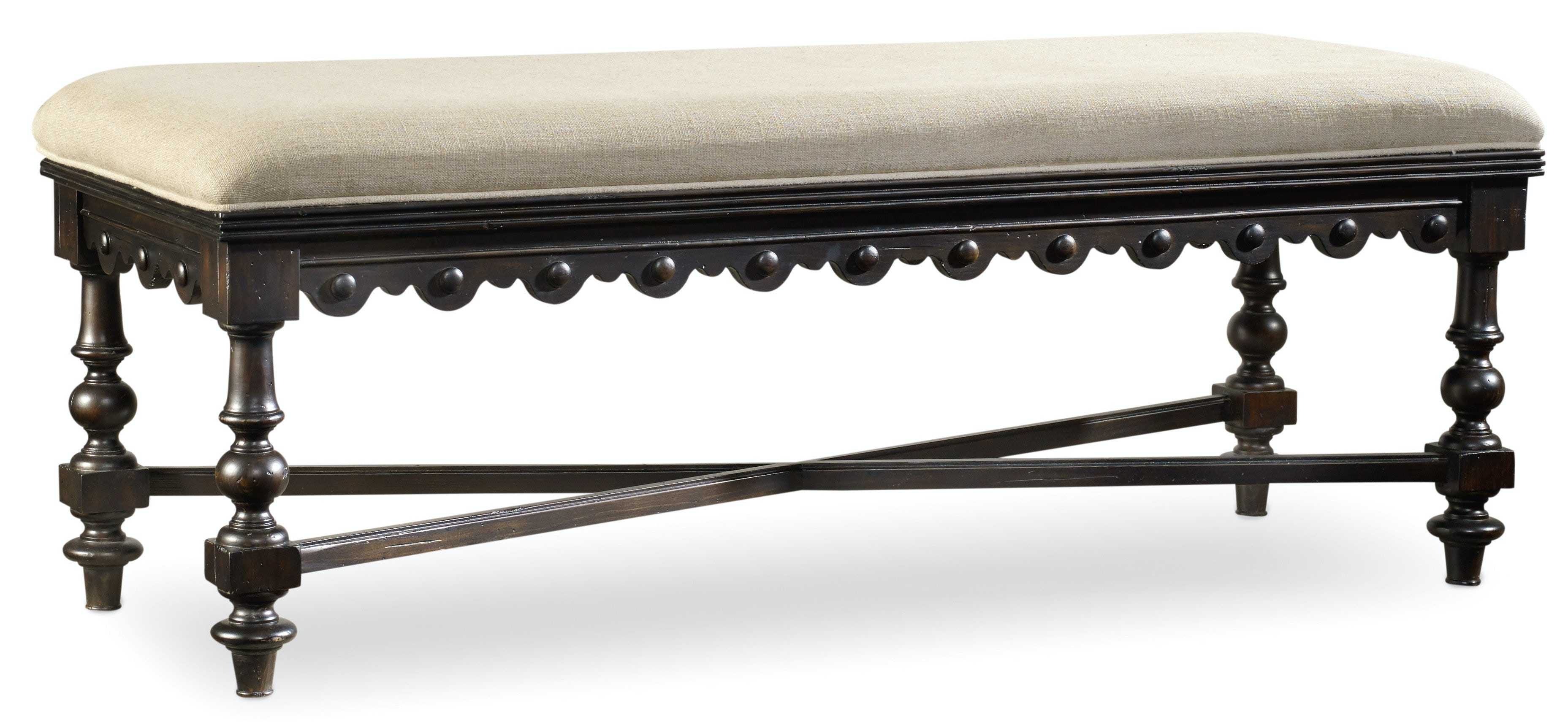 Great Hooker Furniture Treviso Bed Bench 5374 90019