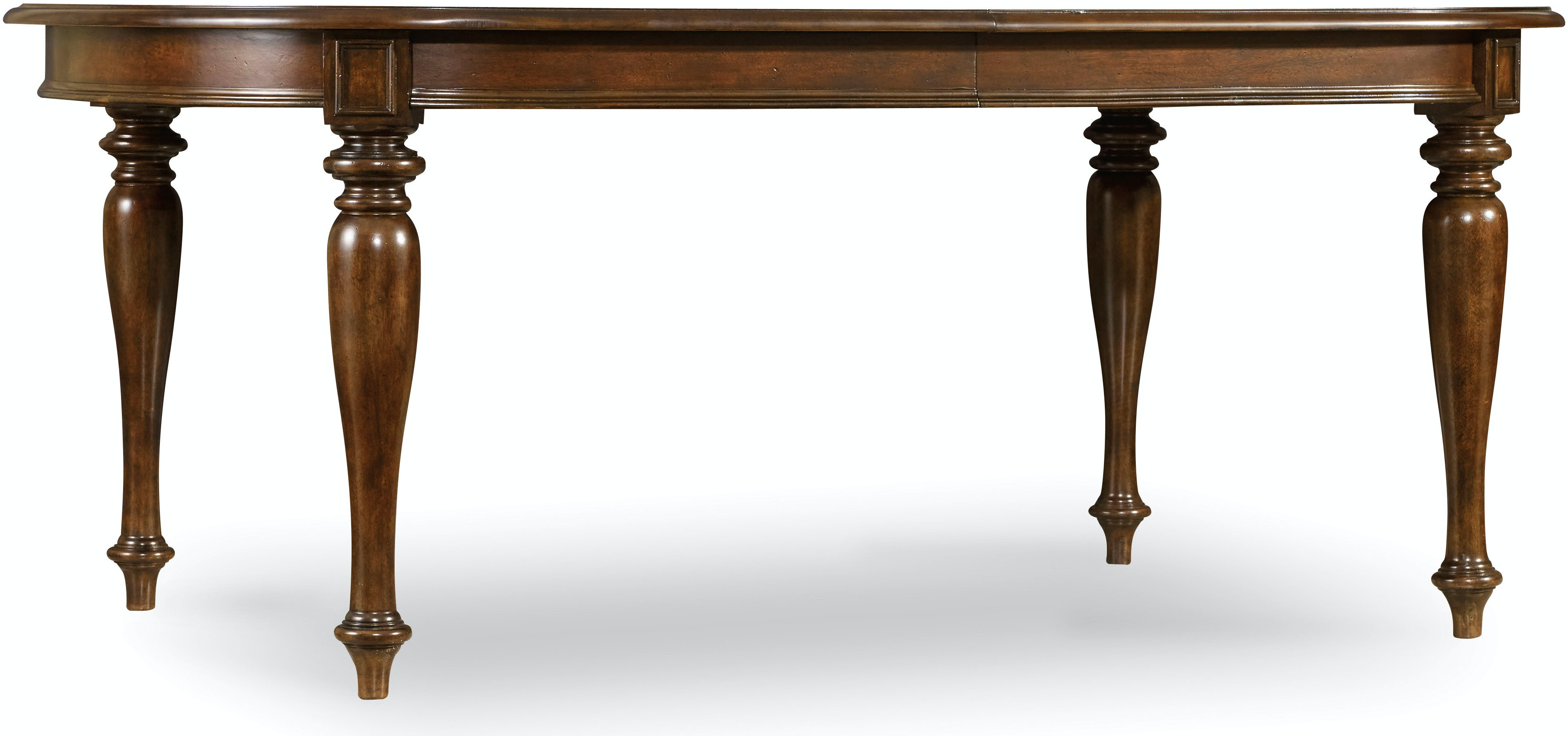 Hooker Furniture Dining Room Leesburg Leg Table With Two