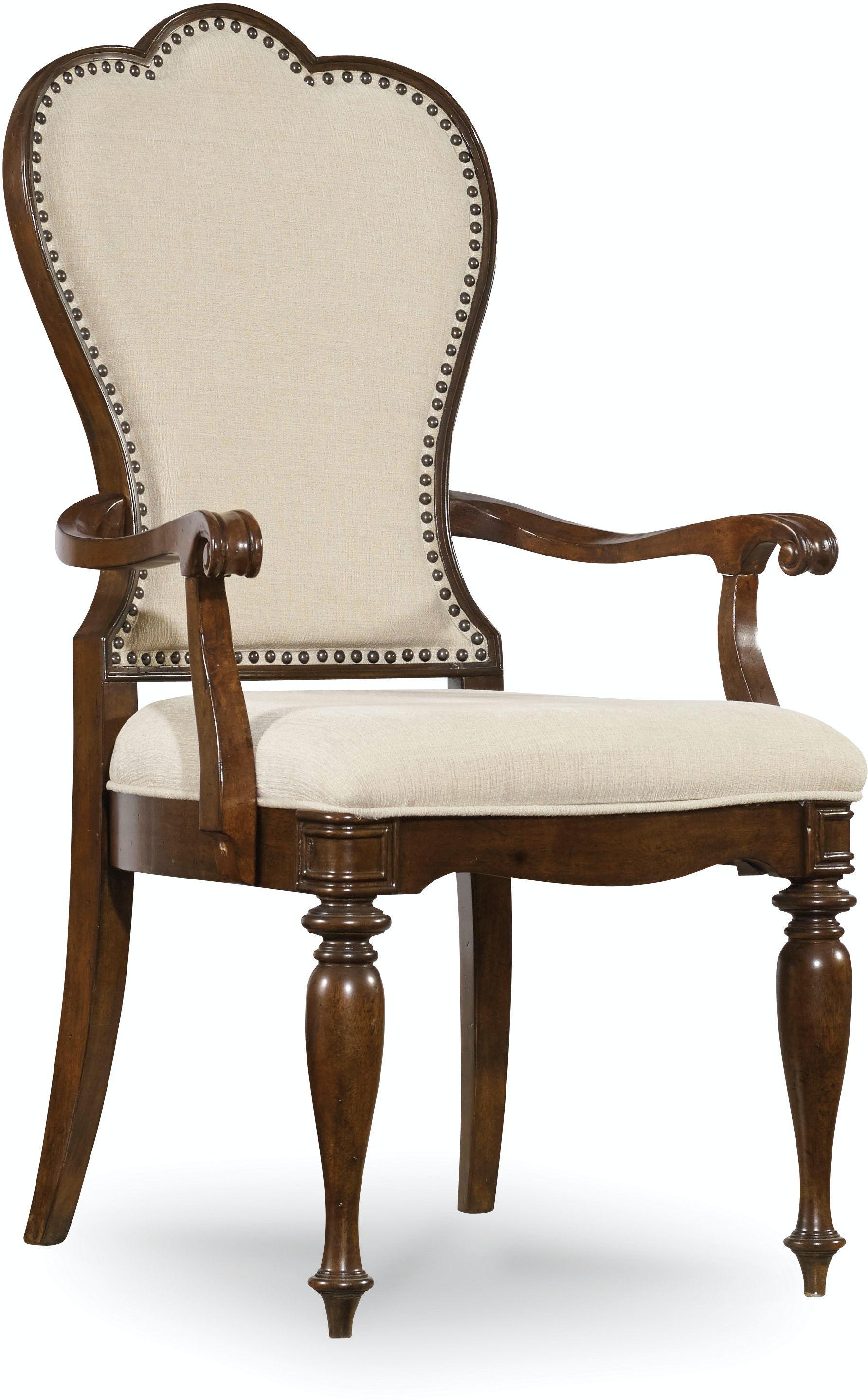 Hooker Furniture Dining Room Leesburg Upholstered Arm