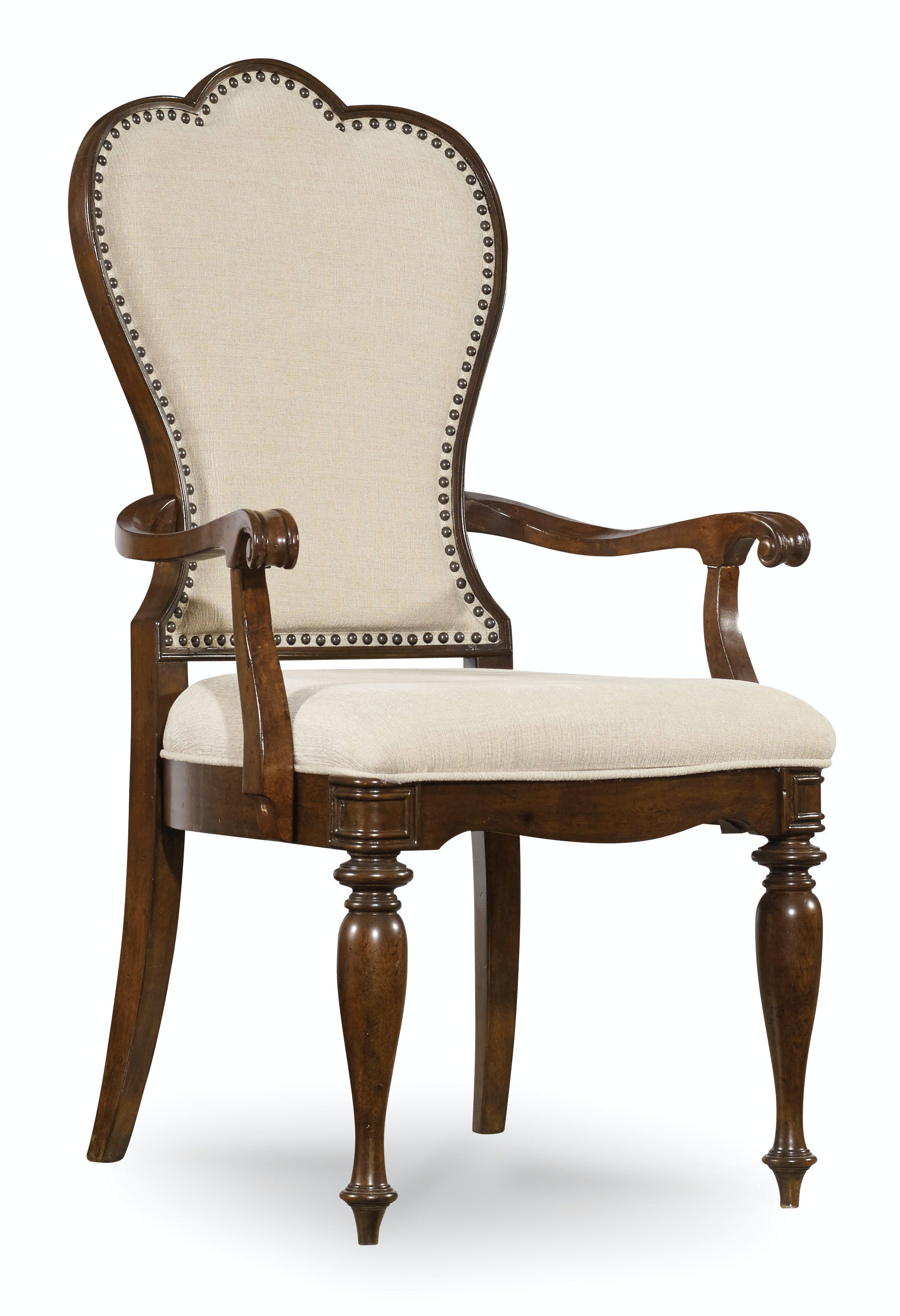 Superb Hooker Furniture Dining Room Leesburg Upholstered Arm Chair 5381 75400 At  Lauters Fine Furniture