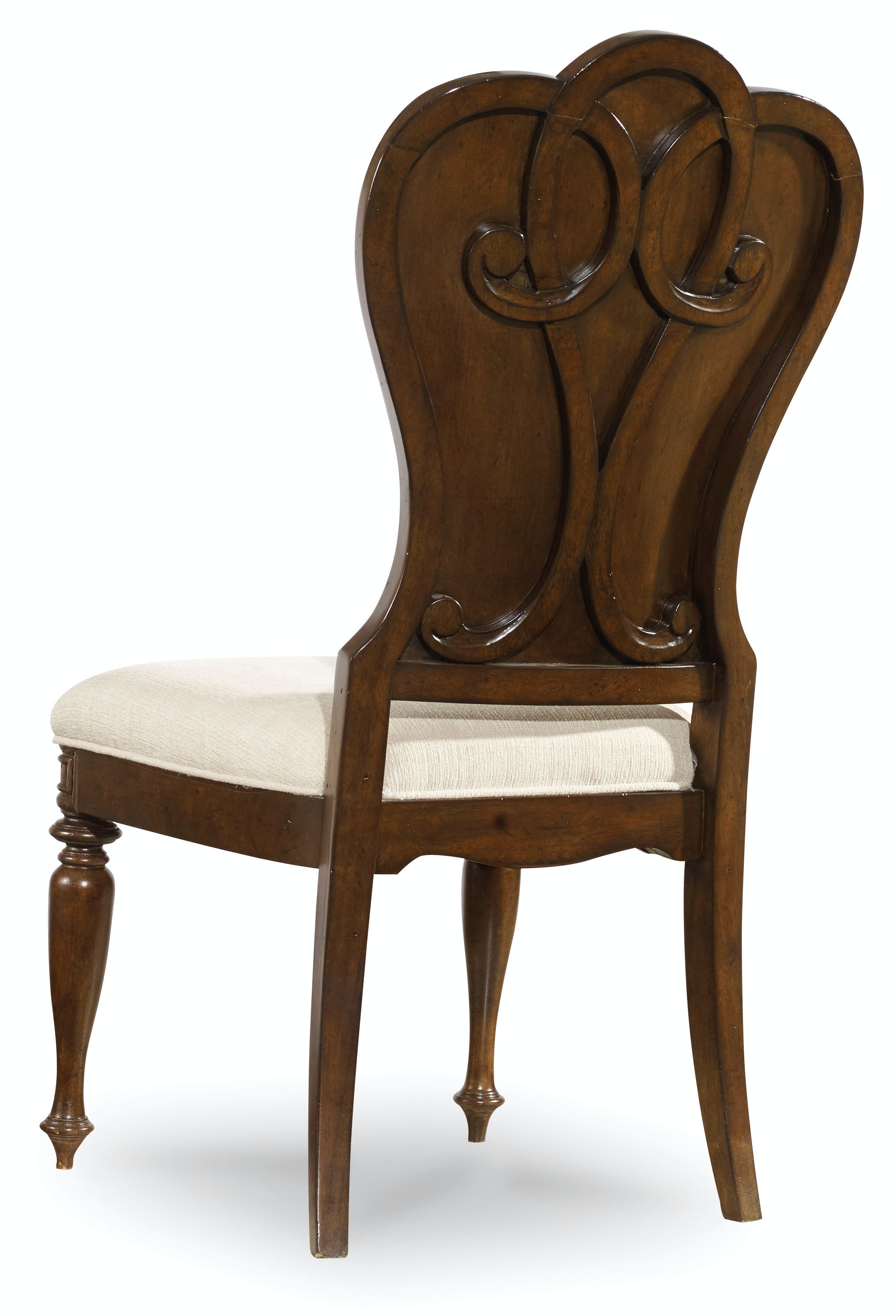 Hooker Furniture Dining Room Leesburg Upholstered Side Chair 5381 ...