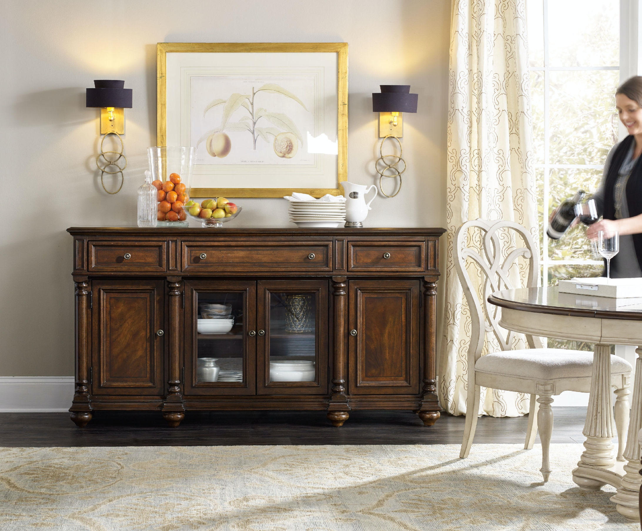 Hooker Furniture Leesburg Buffet 5381 75900