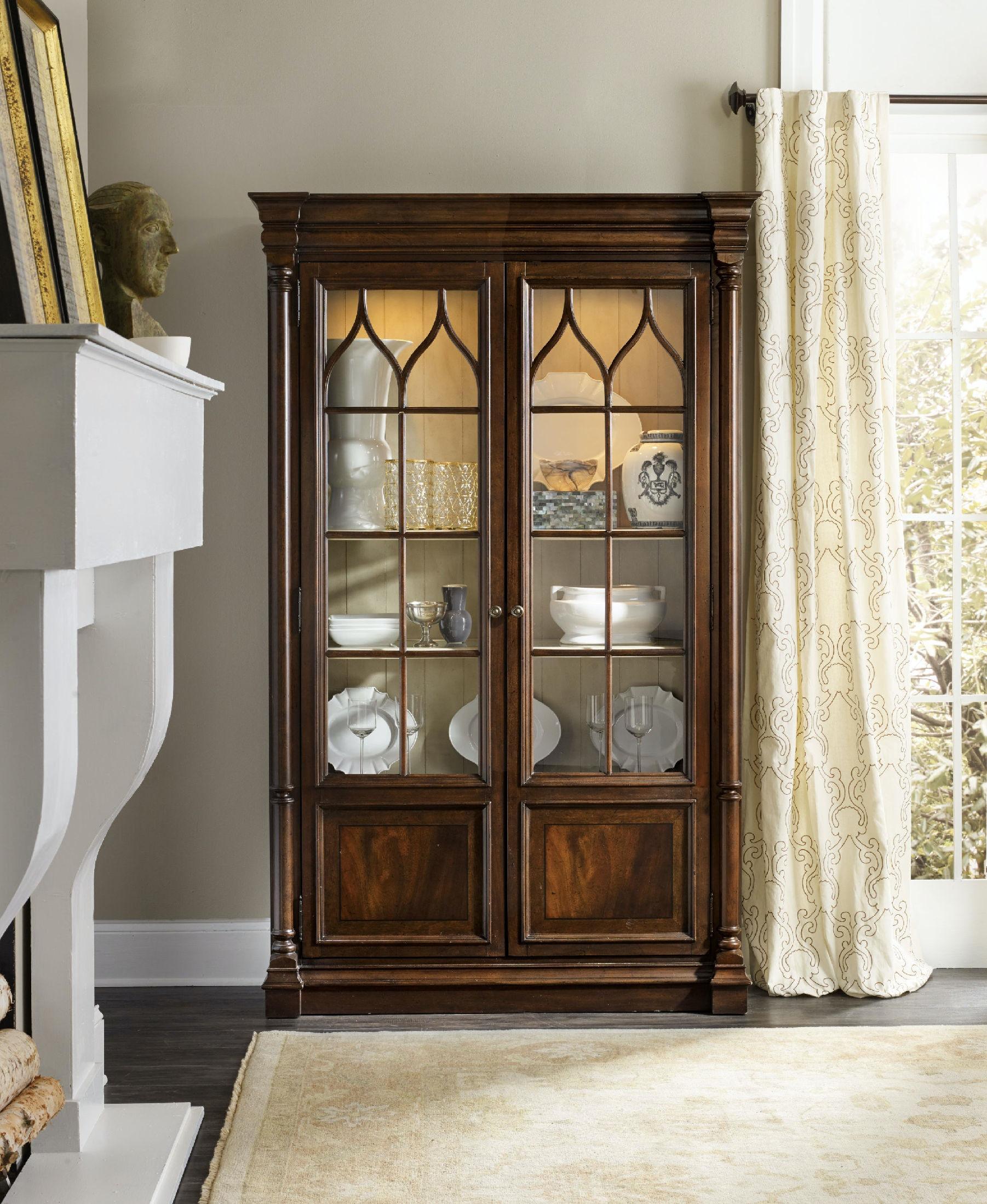 Hooker Furniture Leesburg Display Cabinet 5381 75906