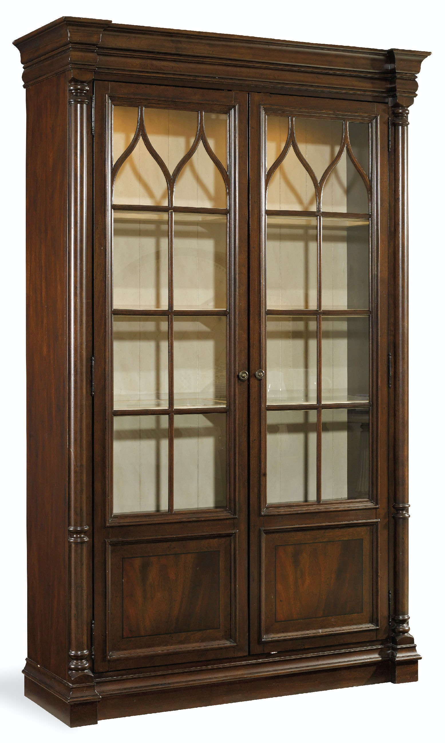 Hooker Furniture Dining Room Leesburg Display Cabinet 5381-75906